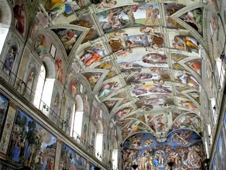 November 1 1512 Michelangelo S Sistine Chapel Ceiling Opens