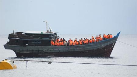 Asylum Seekers Boat Australia