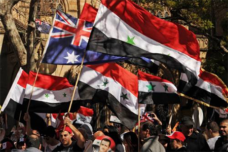 Syria Sydney Threat