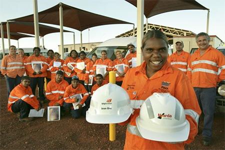 Australia Aboriginal Miners