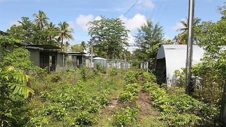 The desolate Manus Island detainee facility