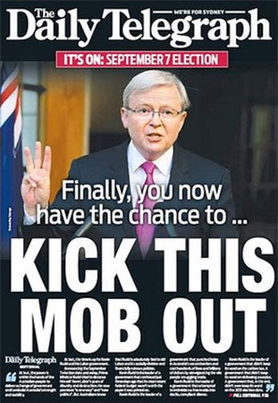 Daily Telegraph Headline
