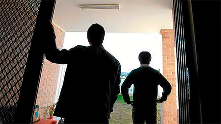 Two under-age asylum seekers