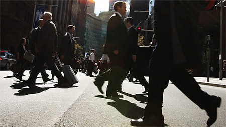 The survey found blue collar workers were more concerned about cost of living and taxes, while public sector workers were more worried about job security. Photo: Peter Braig