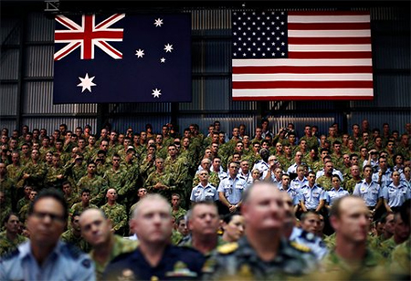 US Troops in Australia