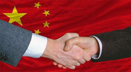 China Handshake