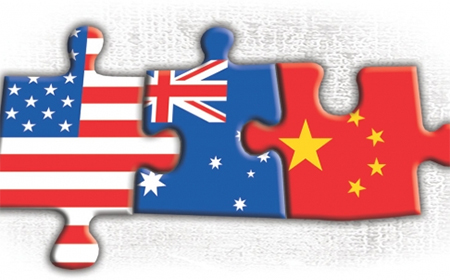 Australia USA China Jigsaw