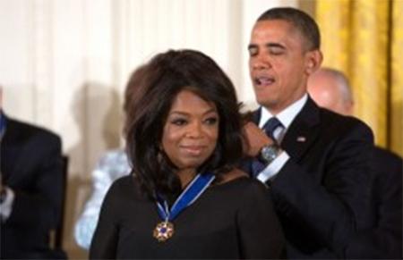 Oprah Winfrey & Barack Obama