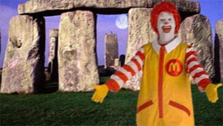 McDonald's Stonhenge
