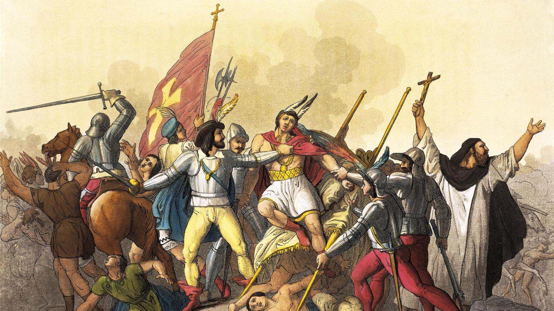 Francisco Pizarro Traps Incan Emperor Atahualpa