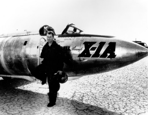Chuck Yeager and the X-1A