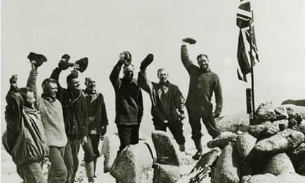 Sir Douglas Mawson and his Exploration Party