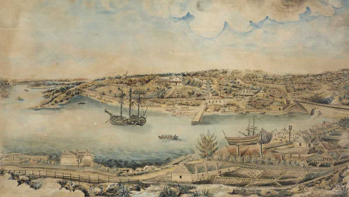 Sydney in 1791