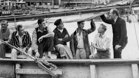 The Crew of Rani 1945