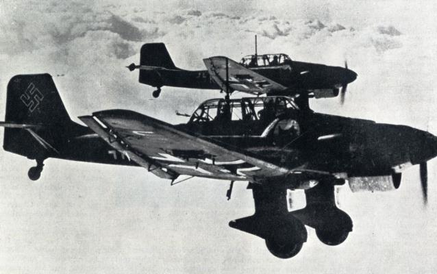 The first raid on London by the Luftwaffe