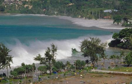Tsunami in Phuket, Thailand