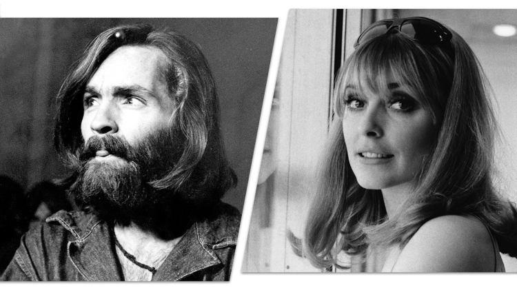 Charles Manson and Sharon Tate