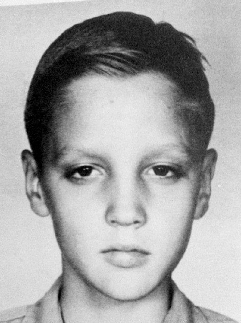 Elvis Presley Aged 11