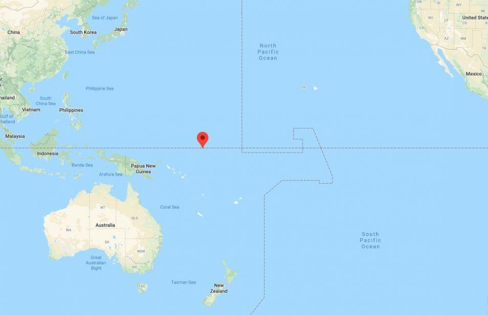 Location of Nauru