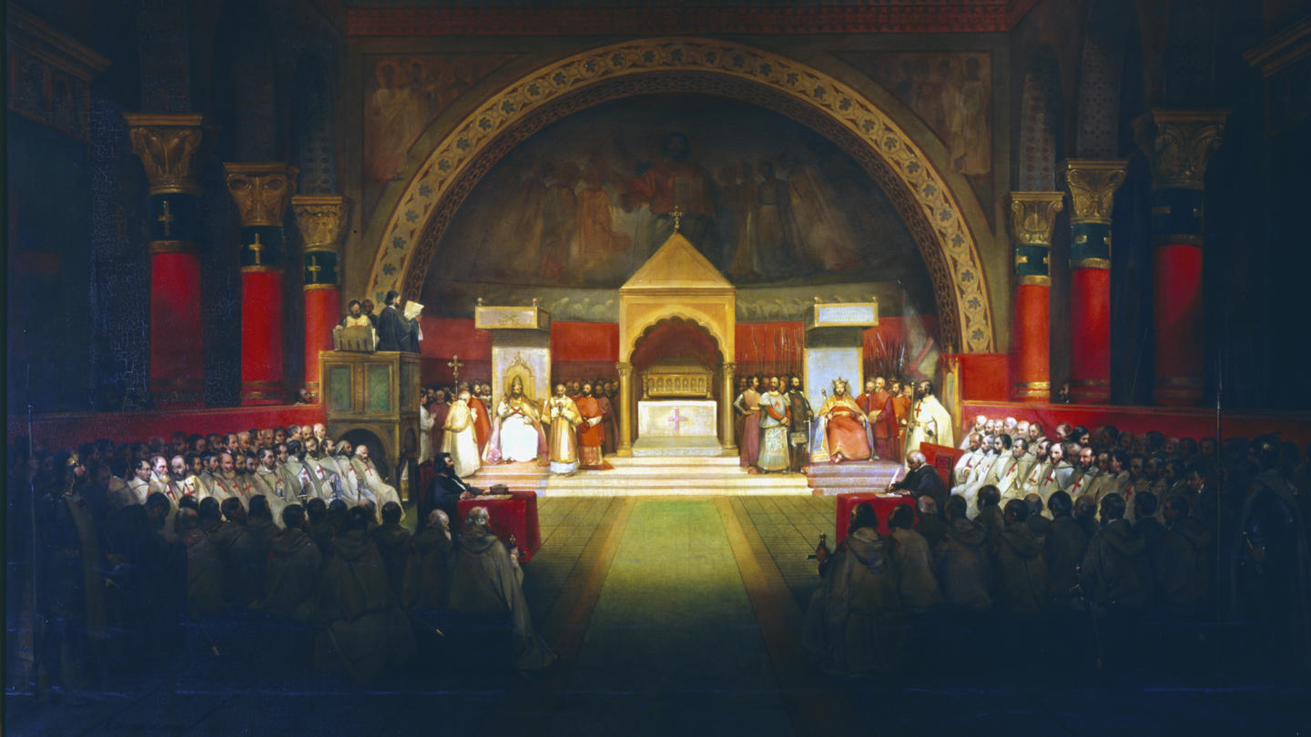 Pope Recognises Knights Templar
