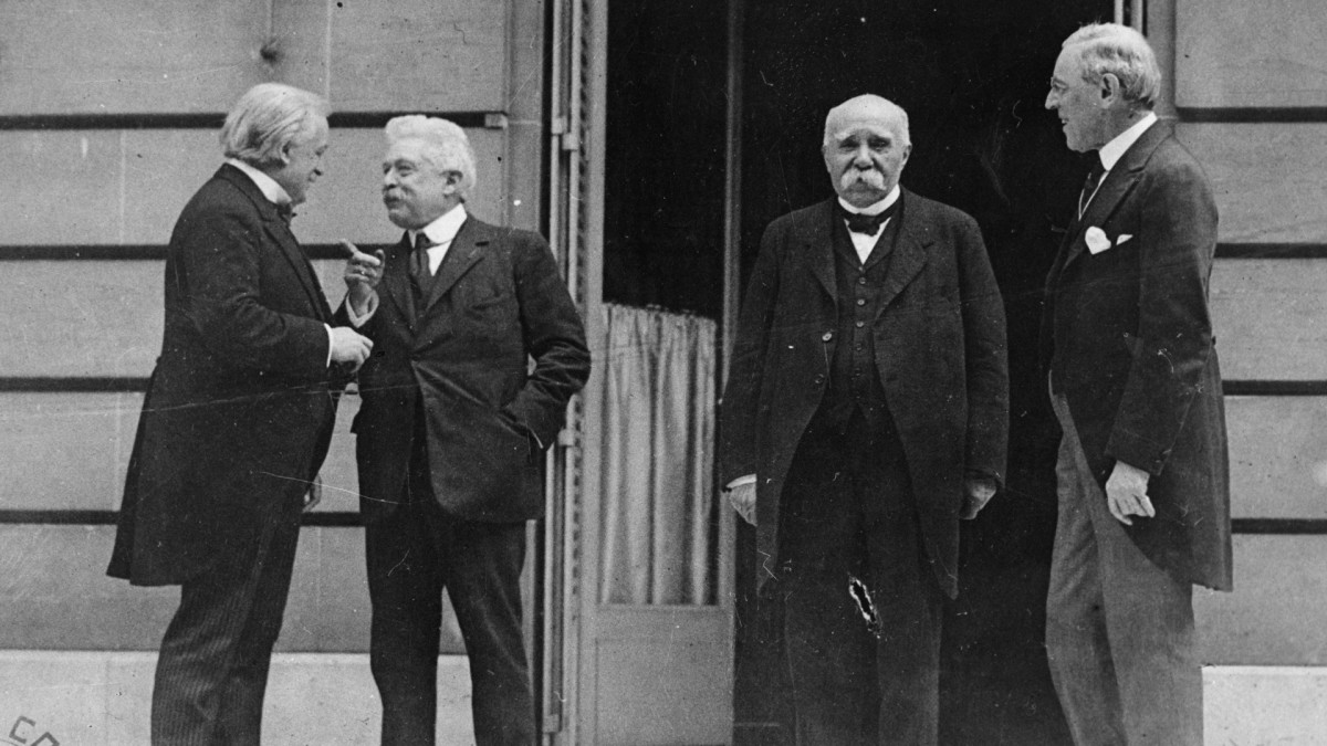 Post World War I Peace Conference
