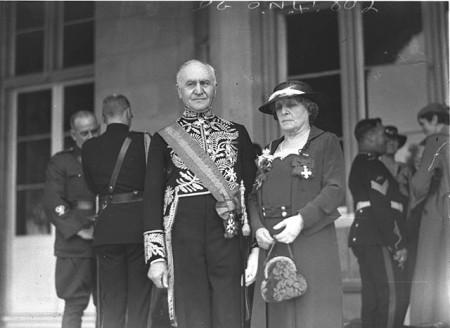 Sir Isaac Isaacs and Lady Isaacs