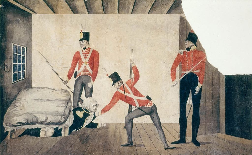 The arrest of Governor Bligh