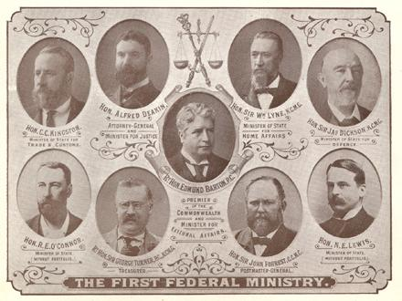 The First Federal Australian Ministry